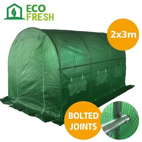 teppiche 2m x 3m ecofresh walk in greenhouse 3m x 2m x 2m wholesales direct