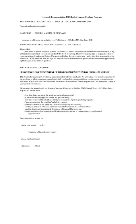 Recommendation Letter Nursing School Best Photos Of Letter Of Recommendation Nursing