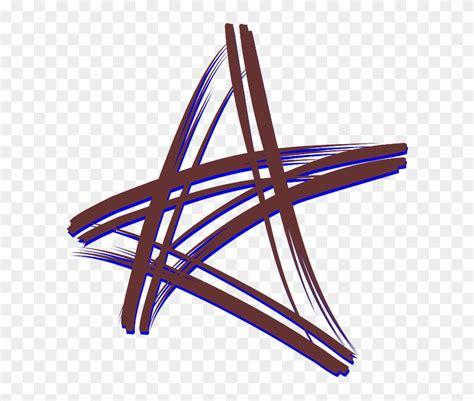 clipart bintang five point star cross bintang vektor free