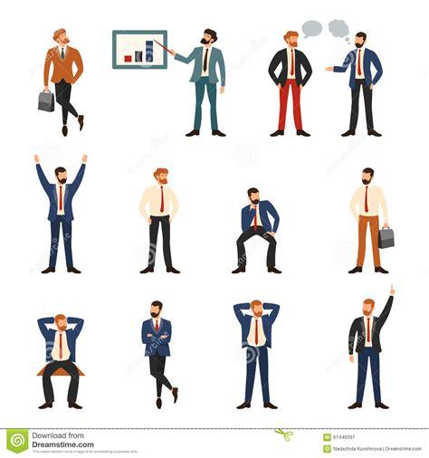 ufficio di commercio gruppo di commercio e la gente dell ufficio illustrazione