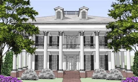 Pin By Rosemary Davis On Greek Revival Pinterest Southern Style House Plans With Columns