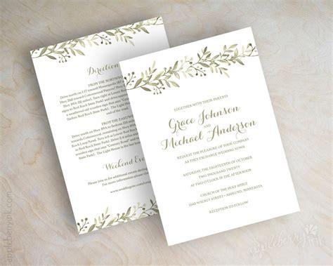 italian wedding invitations wording botanical garden wedding invitations vineyard italian