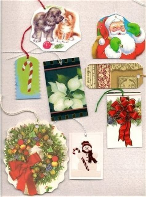 making your own gift tags thriftyfun