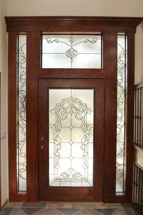 Leaded Glass Entry Doors Beveled Leaded Glass Door And Beautiful Doors