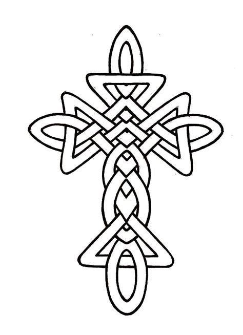 Celtic Cross Coloring Pages celtic letter j coloring pages