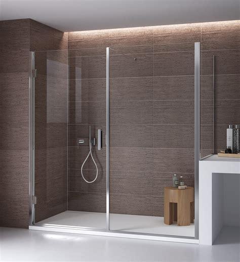 parete doccia parete doccia di cristallo con lato fisso su muretto bithia