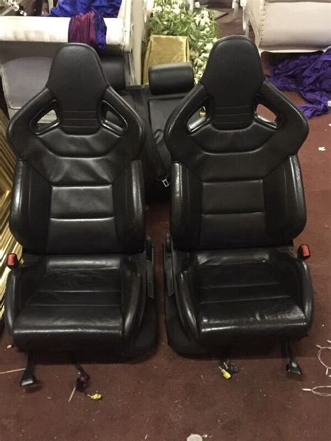 repair voice data communications 1986 audi 5000s seat position control recaro wingback bucket leather seats interior from an audi s3 fits rs3 rs4 a3 golf r32 in