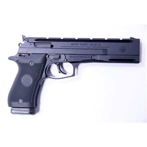 beretta 87 target armurerie pistolet beretta 87 target calibre 22 lr