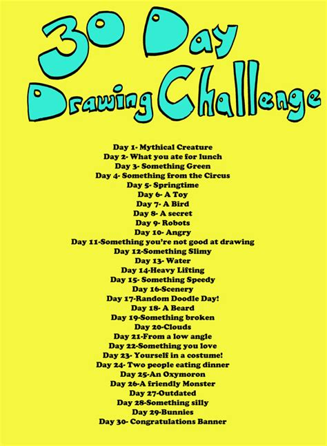 themes for photo challenges drawing challenge list autos post