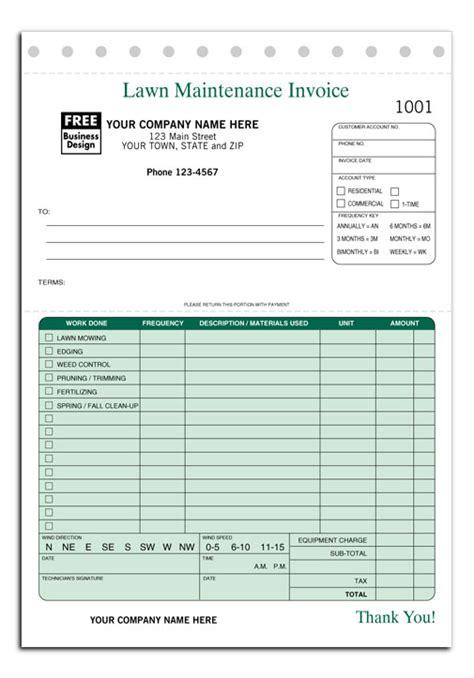 Landscape Work Order Forms Work Order Forms Landscaping Work Order Invoices