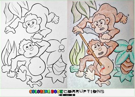 coloring book pages gone wrong 14 coloring book corruptions pleated jeans