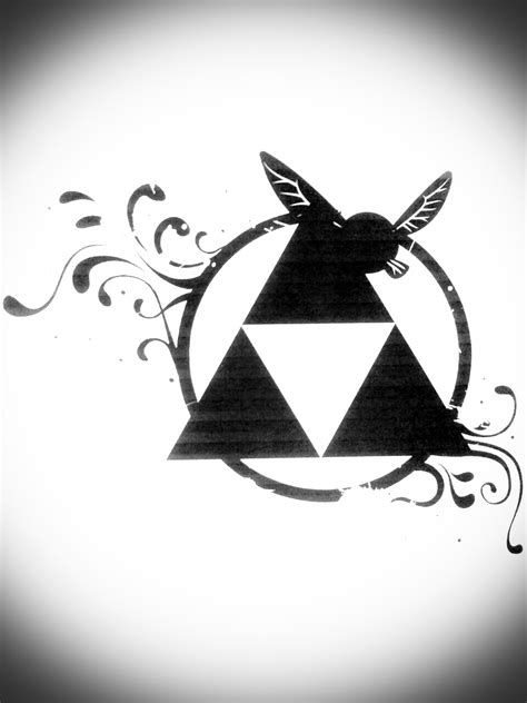 zelda triforce tattoo design triforce by nemulendil on deviantart crafts