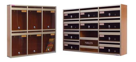 cassette postali legno casellari postali in legno il casellario acp le palme