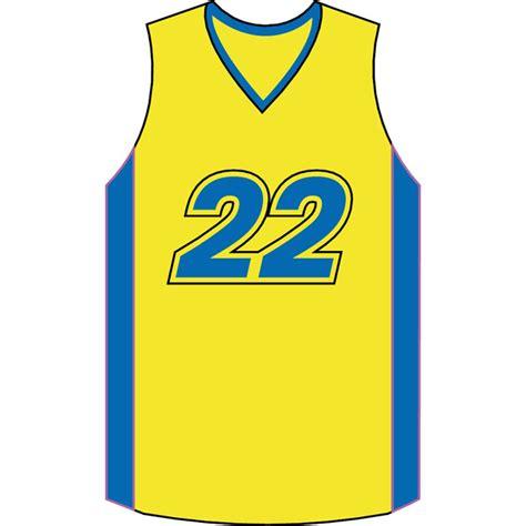 basketball jersey vector clipart