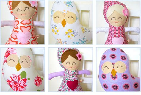 Cuckoo For Coco by Cuckoo For Coco Handmade Dolls And Owls