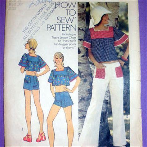 shorts vintage 1970 80 doovi shop patterns bell bottom on wanelo