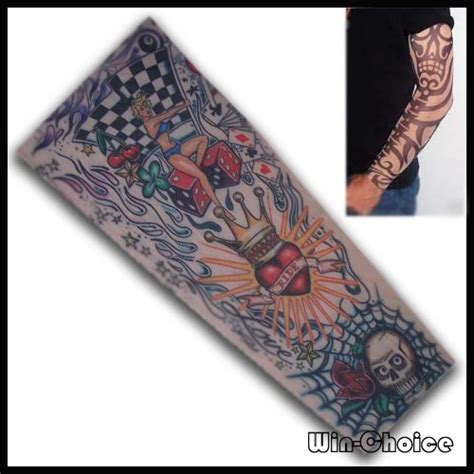 Tatto Temporary 6x10 5 Cm 02 free shipping temporary sleeve 10pcs 5pairs at wholesale price mixed order accept