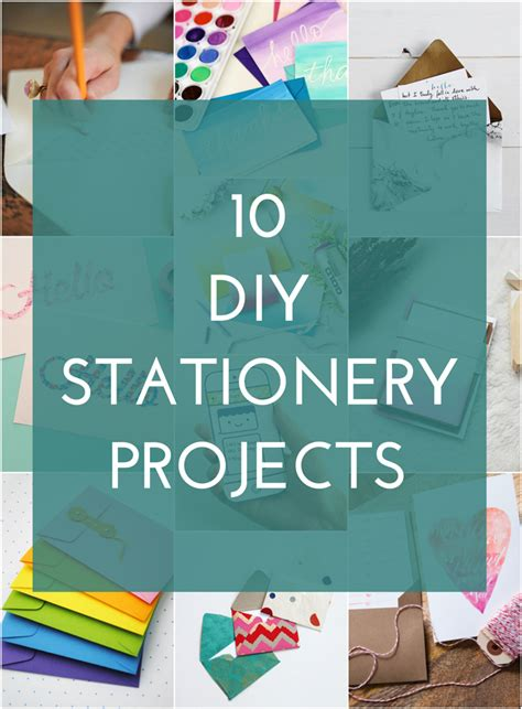 diy stationery 10 diy stationery ideas the crafted