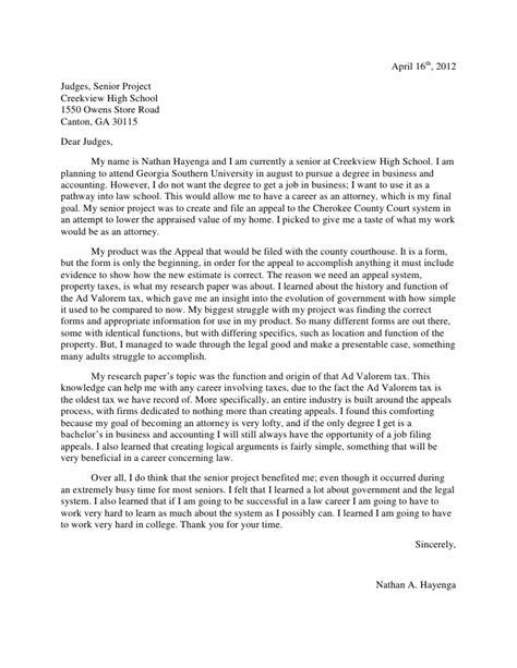 informative letter format informative letter to judges