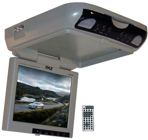 Lcd Monitor Roof pyle plrd106 10 2 roof mount tft lcd color monitor dvd ebay