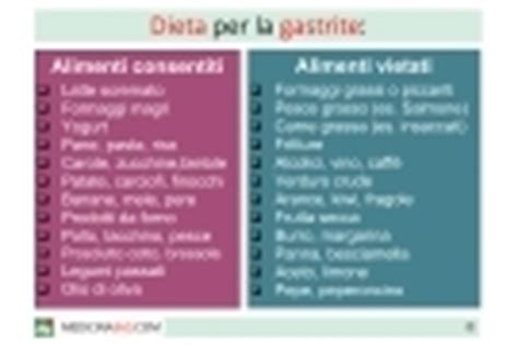 alimenti x gastrite ulcera gastrica sintomi cause dieta cura e rischi