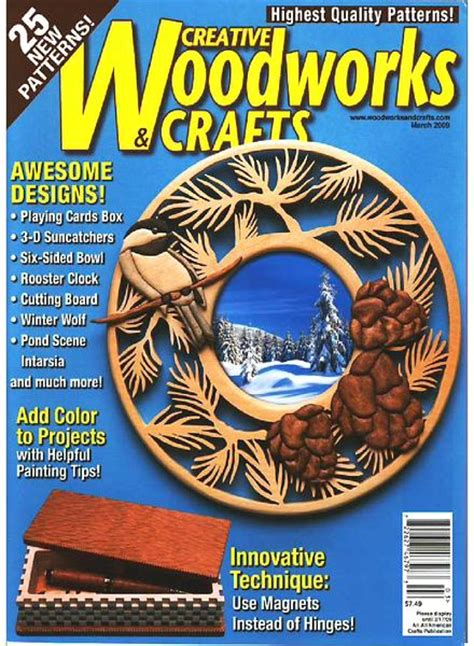 woodworks and crafts creative woodworks crafts march 2009 pdf
