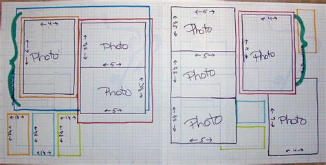 the scrapoholic scrapbooking layout sketch 24 page