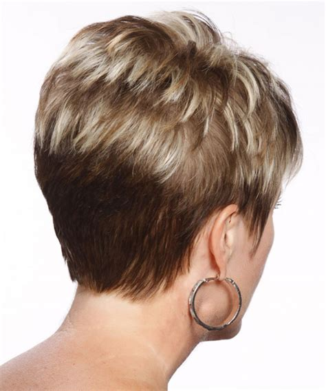 short hairstyles from the back for women over 50 back view of short haircuts for women 51 with back view of