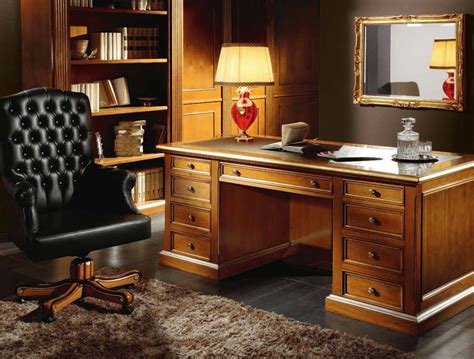 Classic Executive Desk by Martin Daniel Interiors Classic Executive Office Collection