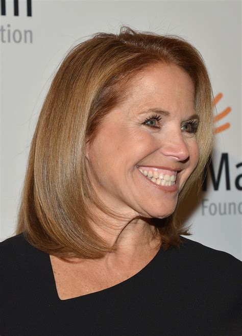 how to style katie couric hair more pics of katie couric mid length bob 1 of 13 katie