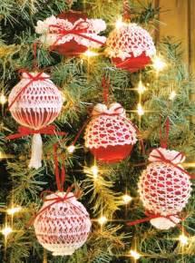 crochet patterns for christmas ornaments crochet for