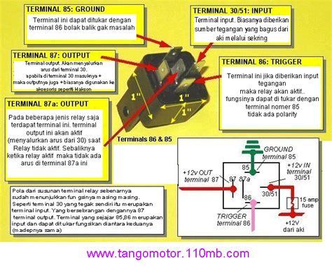 horn relay wiring diagram 85 86 87 87a 30 wiring diagram