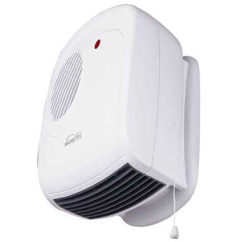 bathroom heater wall mounted 2400w white sku