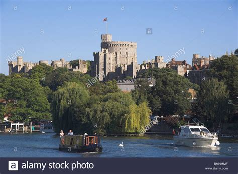 thames river cruise in windsor windsor castle river thames stock photo royalty free
