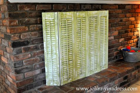 diy fireplace screen diy crafts