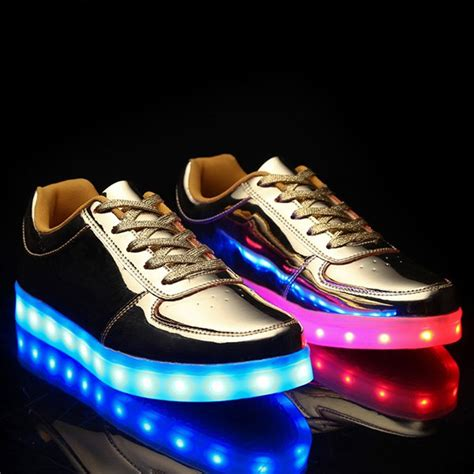 Idw065 Gold Led Light Size 15 trendy lights up led luminous and metal color design