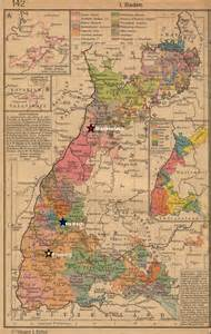 Baden Germany Map by Map Of Baden Germany In 1800