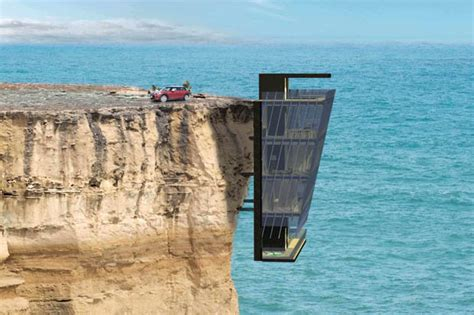 house designs victoria australia architects design luxury family home suspended off a cliff daily star