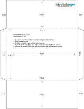 Letter Size Card Template by 5 25 X 7 25 Envelope Template Card Templates
