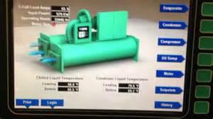 900 ton york centrifugal chiller start up youtube