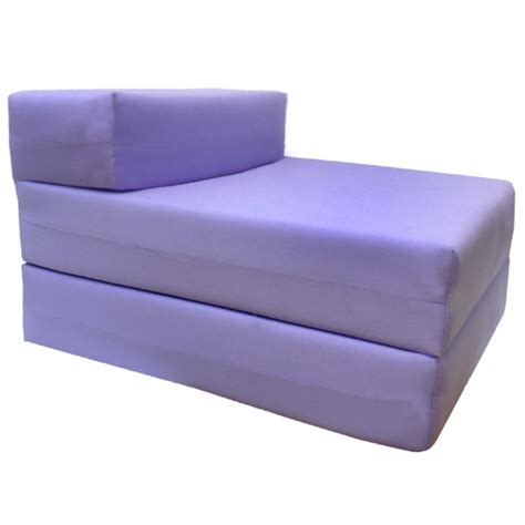 Fold Out Sofa Bed Purple Fold Out Guest Sofa Z Bed Sleeping Mattress Studio Student Indoor Outdoor Ebay