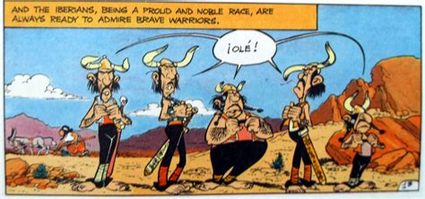 asterix and the spanish the assommoir
