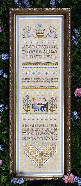 Kain Aida Kristik Cross Stitch 14ct Garden Pearl Blue family cross stitch patterns kits 123stitch