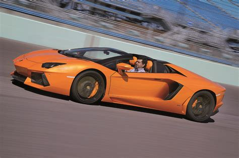 Test Drive Lamborghini Aventador Lamborghini Aventador Roadster Review Test Drive