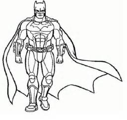 Superhero Coloring Pages Online PICT 734924  Gianfredanet sketch template