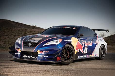 genesis drift car chicago auto show rhys millen hyundai genesis drift race car