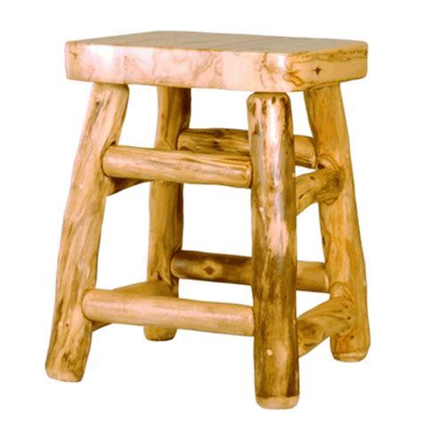 log home bar stools mountain woods rustic aspen log bar stool