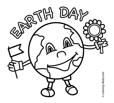 earth day coloring pages preschool kindergarten earth day coloring pages download and print