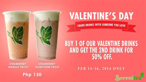 when is s day in 2014 serenitea s day promo february 2014 manila on sale