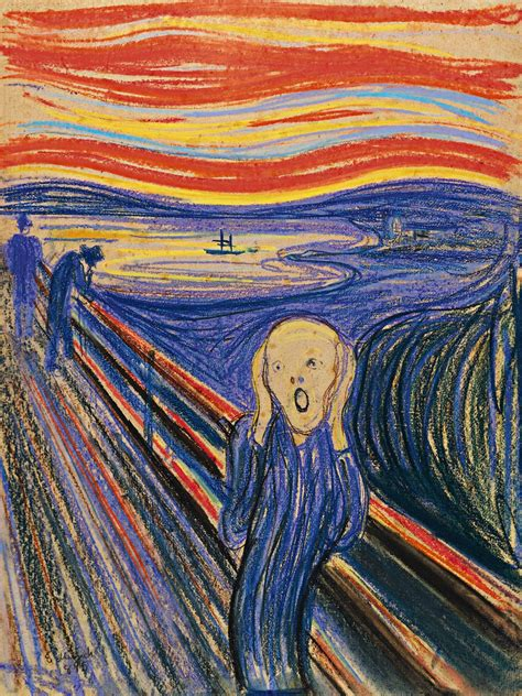 edvard munch the scream by edvard munch artpaintingartist